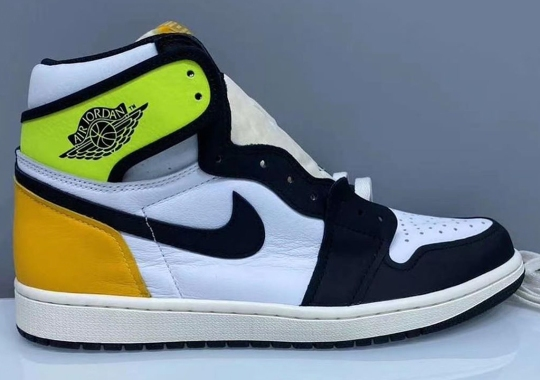 "First Look At The Air Jordan 1 Retro High OG ""Volt"" For 2021"