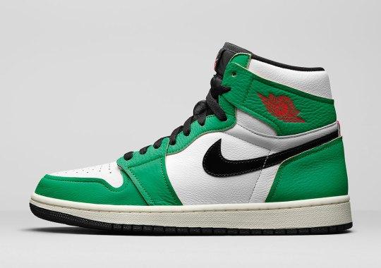"""The Air Jordan 1 Retro High OG """"Lucky Green"""" Inspired By MJ's 63-Point Game Against Boston"""