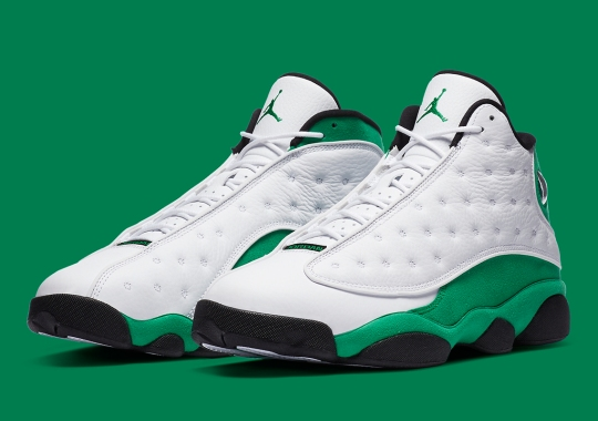 "Official Images Of The Air Jordan 13 ""Lucky Green"""