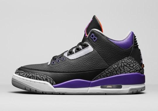 "Air Jordan 3 ""Court Purple"" Won't Release In North America"