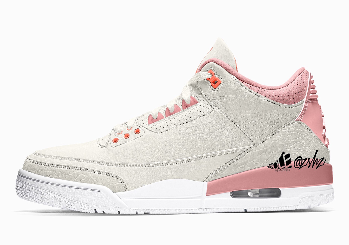 """Air Jordan 3 """"Rust Pink"""""""