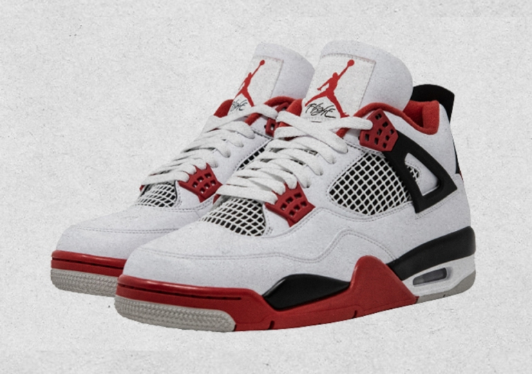 "First Look At The Air Jordan 4 ""Fire Red"" Releasing Black Friday 2020"