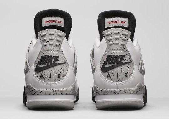 """Air Jordan 4 """"White/Cement"""" Rumored For May 2021 Return?"""