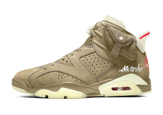 Another Travis Scott x Air Jordan 6 Potentially Dropping In 2021