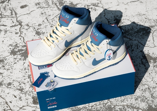 "Where To Buy The Atlas x Nike SB Dunk High ""Lost at Sea"""