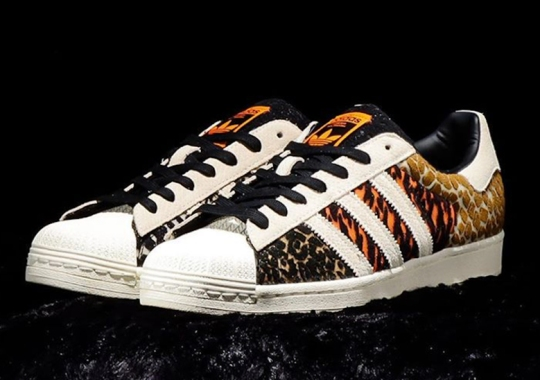"The atmos x adidas Superstar ""Crazy Animal"" Pack Is Set For October 3rd Arrival"