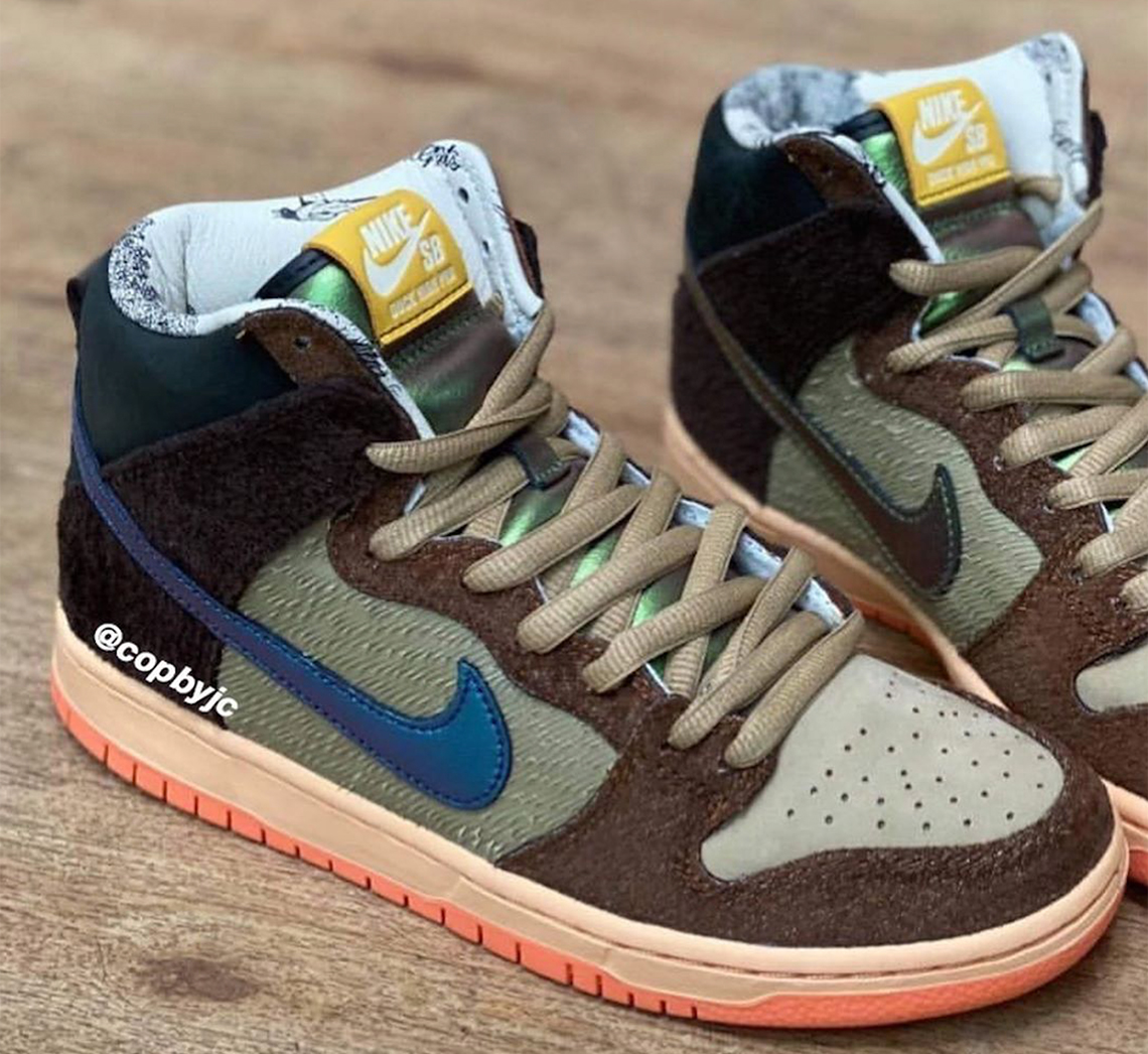 Concepts Nike SB Dunk High Duck