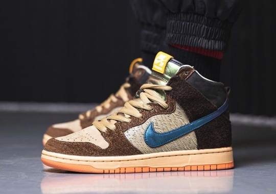"""First Look At The Concepts x Nike SB Dunk High """"Duck"""""""