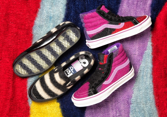 "The Concepts x Vans ""King's Road"" Pack Is Inspired By The 1970's Punk Movement"