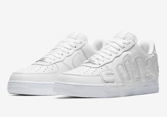 Official Images Of The Cactus Plant Flea Market x Nike Air Force 1 Low In White