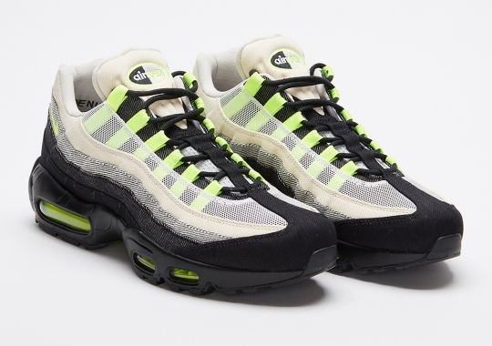 The DENHAM x Nike Air Max 95 Releases On September 25th