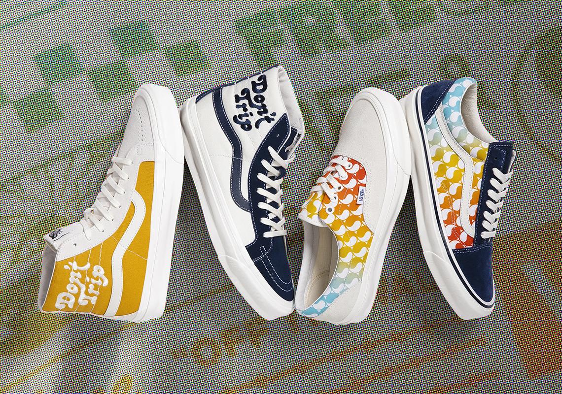 Free \u0026 Easy Vans Sk8-Hi White Navy