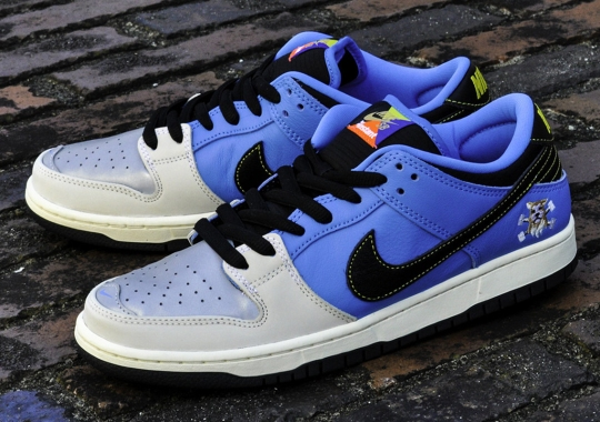 The Instant Skateboards x Nike SB Dunk Low Releases Tomorrow