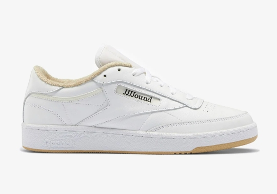 Closer Look At The JJJJound x Reebok Club C In White And Terry Cloth Beige