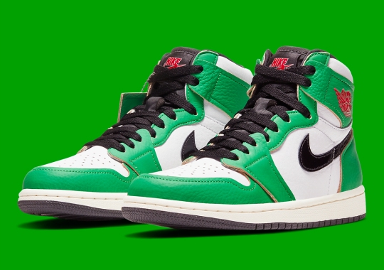 "The Air Jordan 1 Retro High OG ""Lucky Green"" Inspired By MJ's 63-Point Game Against Boston"