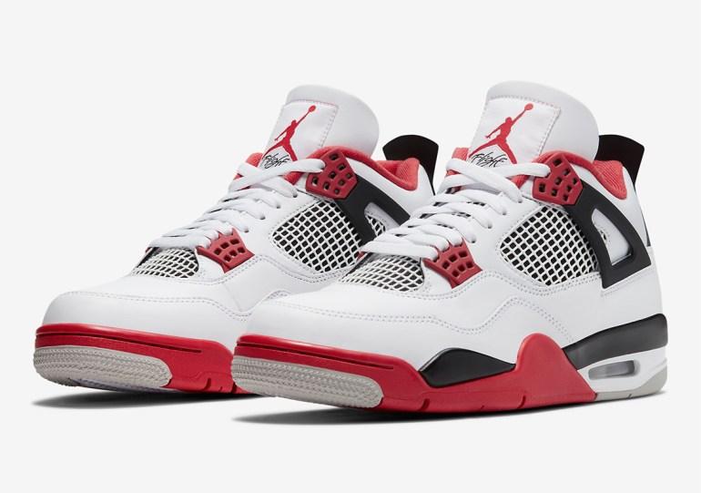 "Jordan Brand Unveils Air Jordan 4 OG ""Fire Red"" For Holiday 2020"
