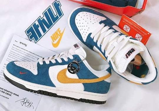 First Look At The Kasina x Nike Dunk Low