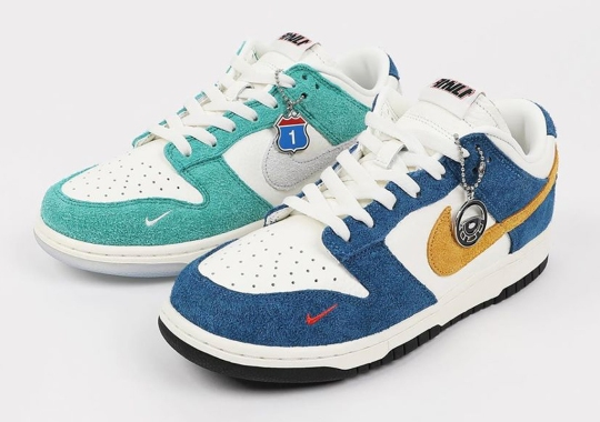 Official Release Info For The Kasina x Nike Dunk Low
