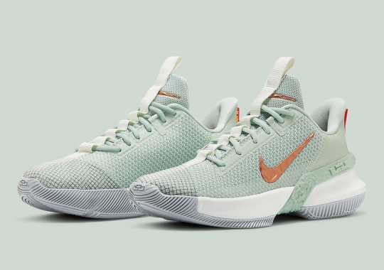 """Nike Basketball Introduces The LeBron Ambassador 13 In """"Empire Jade"""" Colorway"""