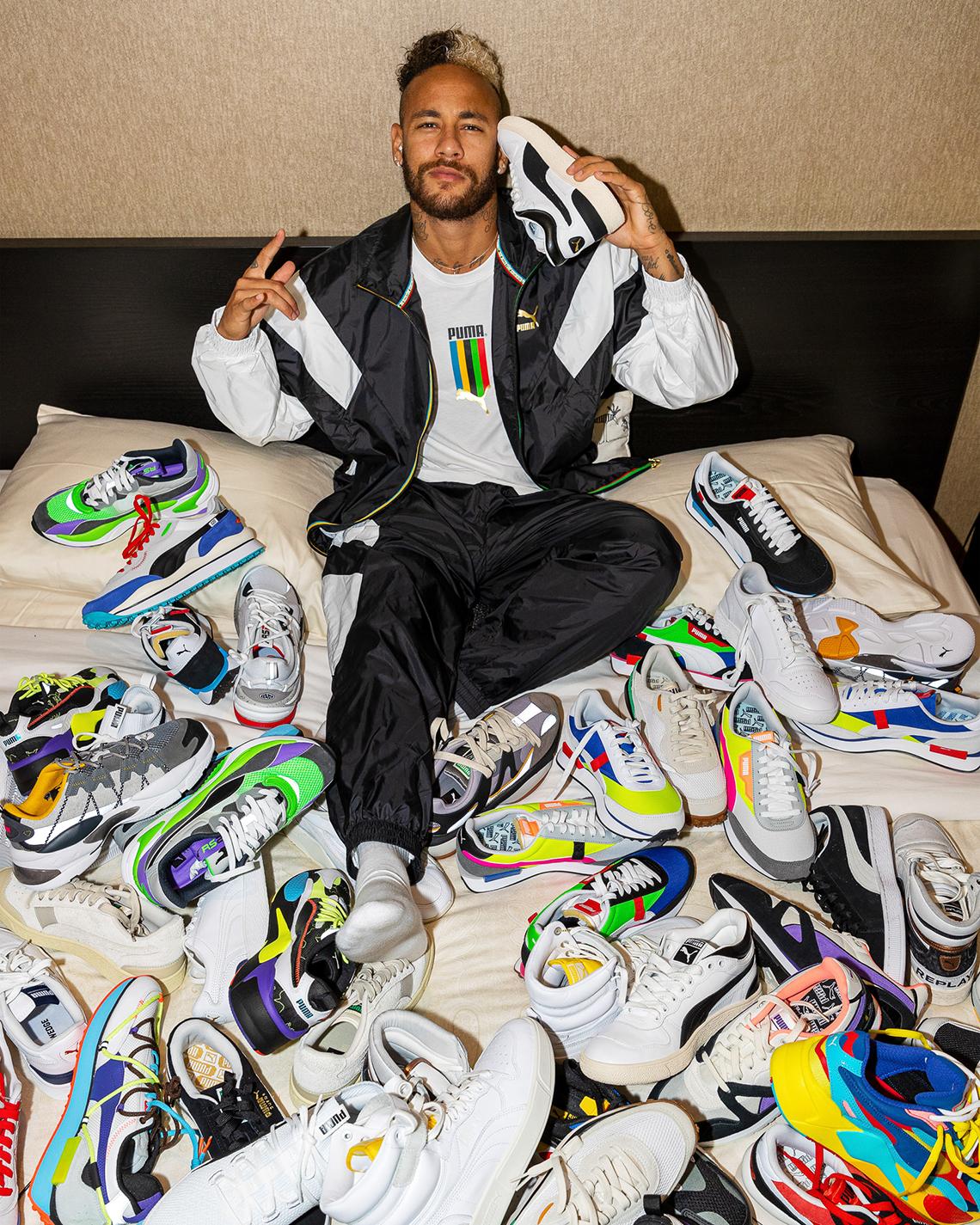 Neymar Signs With Puma - Info