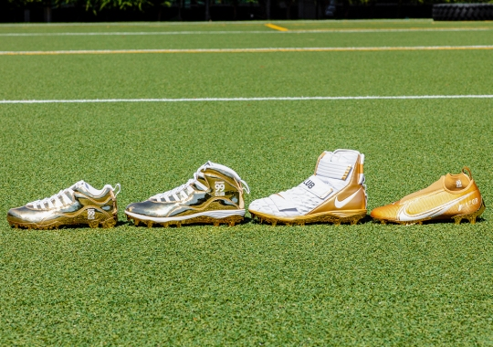 Nike Honors Aaron Donald, Stephon Gilmore, Christian McCaffrey and Michael Thomas With Special Edition Madden 99Club Cleats