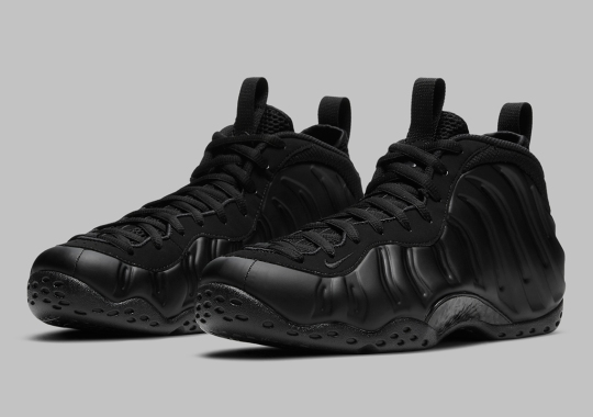 "Official Images Of The Nike Air Foamposite One ""Anthracite"""
