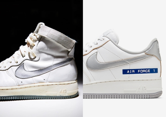 """This Nike Air Force 1 Low """"Label Maker"""" Is Inspired By The Original AF1 High From 1982"""