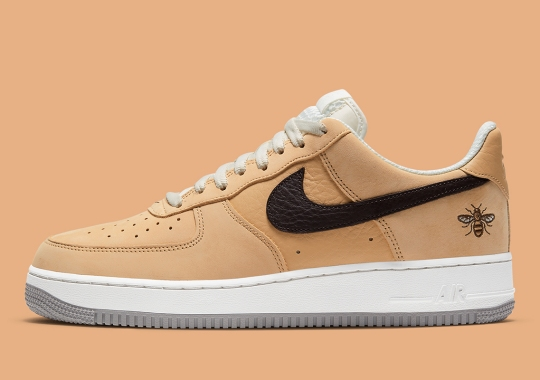 "Nike Air Force 1 Low ""Manchester Bee"" Features The City's Famous Logo"
