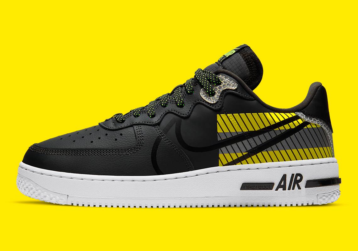 3M Nike Air Force 1 React D/MS/X CT3316-003 | SneakerNews.com