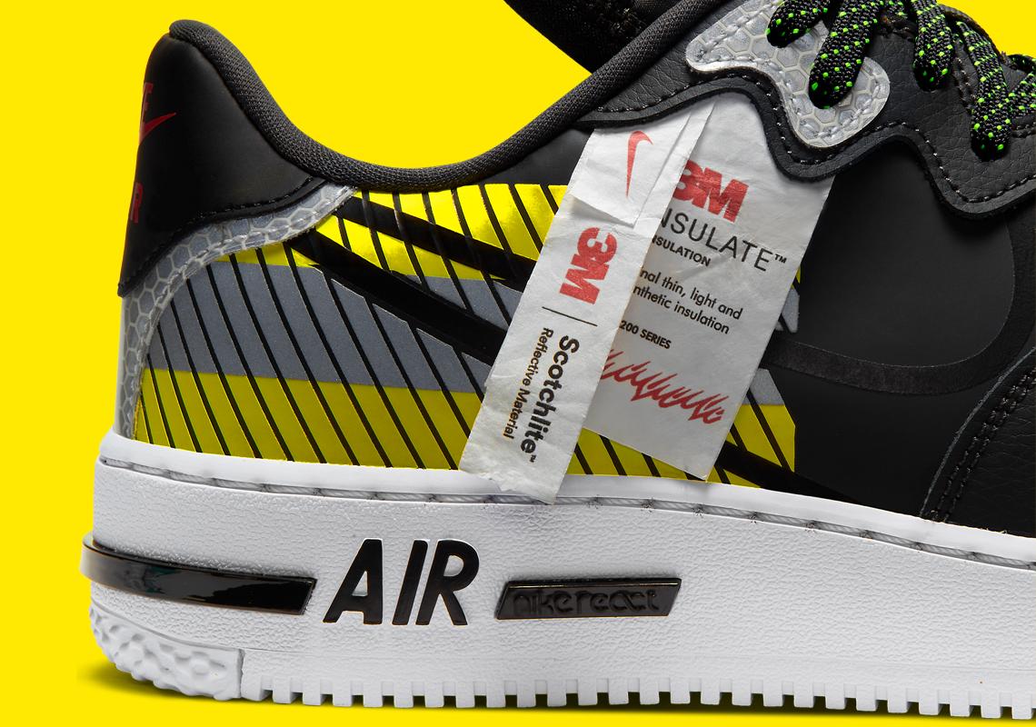 3M Nike Air Force 1 React D/MS/X CT3316-003   SneakerNews.com