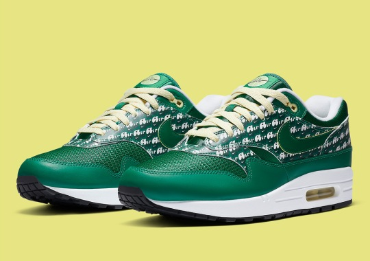 "The Nike Air Max 1 Powerwall ""Limeade"" Releases September 19th"