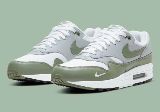 Nike Dresses Up The Air Max 1 PRM In Spiral Sage