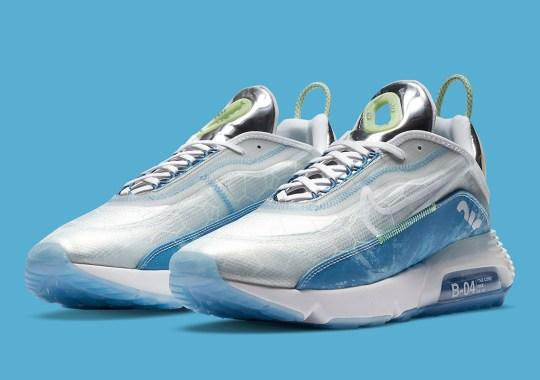 "Nike Air Max 2090 ""Aquatics"" Focuses On Water Molecules"