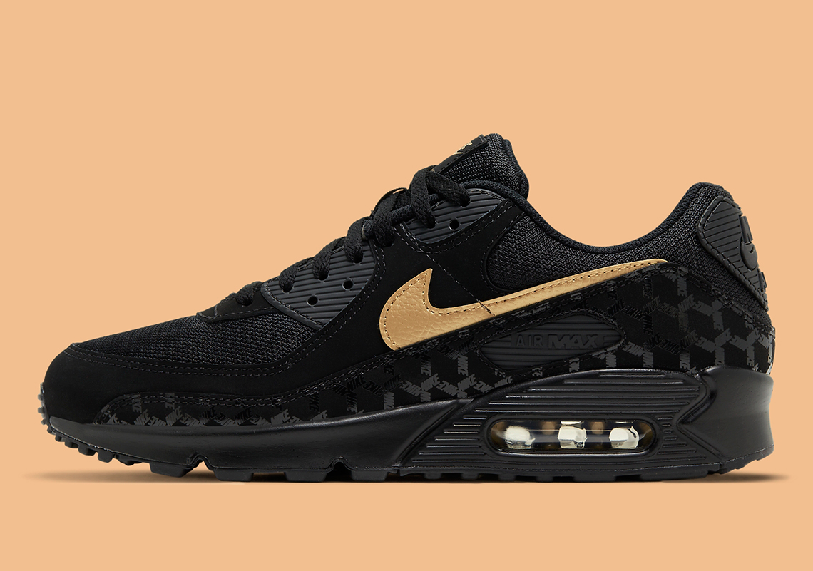 Nike Air Max 90 Black Gold DC4119-001