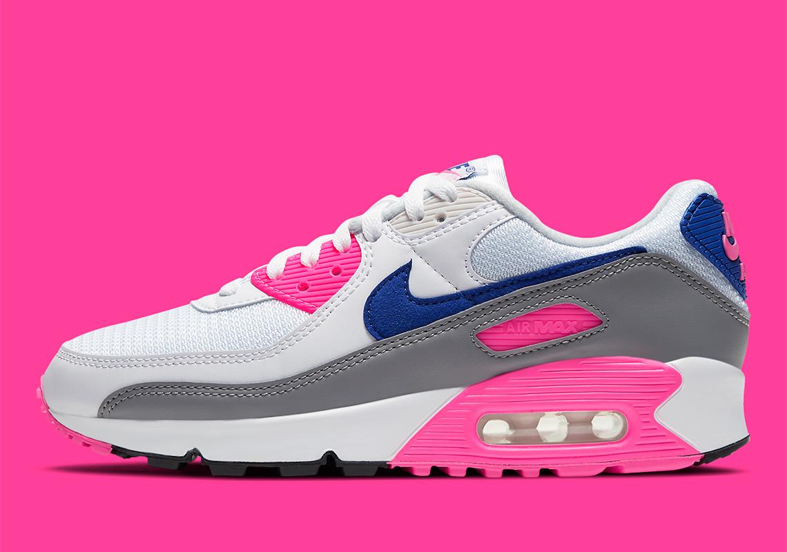 Nike Air Max 90 III Womens Laser Pink CT1887-100 | SneakerNews.com