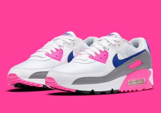 "The Original Nike Air Max 90 ""Laser Pink"" For Women Returns October 8th"
