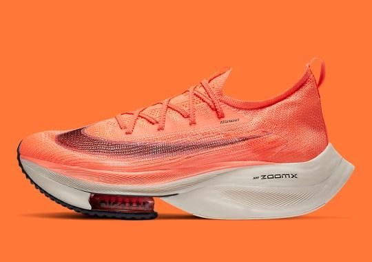 Nike Zoom AlphaFly NEXT% Arriving In Bright Orange