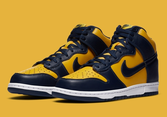 """Where To Buy The Nike Dunk High SP """"Michigan"""""""