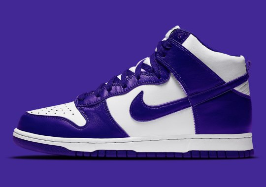 """Nike Dunk High SP WMNS """"Varsity Purple"""" Arriving This Year"""