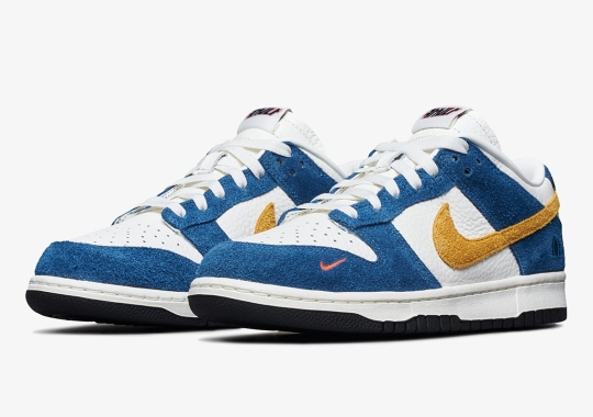 "Official Images Of The Kasina x Nike Dunk Low ""Industrial Blue"""