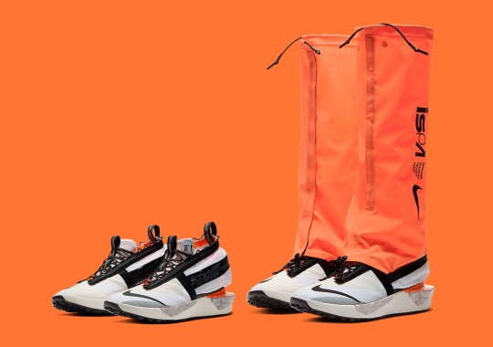 "The Nike ISPA Drifter Gator ""Hyper Crimson"" Is Dropping On October 8th"