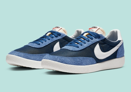 The Nike Killshot OG Emerges In Coastal Blue Suede And Mesh