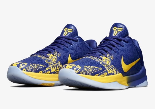"The Nike Kobe 5 Protro ""5 Rings"" Releases On September 30th"