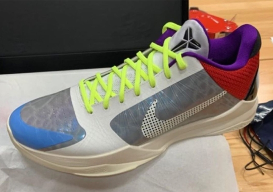 """The Nike Kobe 5 Protro Returns On September 25th In """"Particle Grey"""" Mix"""