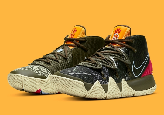 "Another Nike Kybrid S2 Applies ""What The"" Graphics On The Upper"