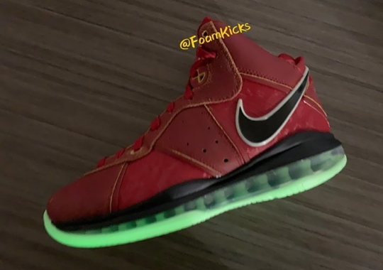 "Nike LeBron 8 QS ""Gym Red"" Slated For Late 2020 Release"