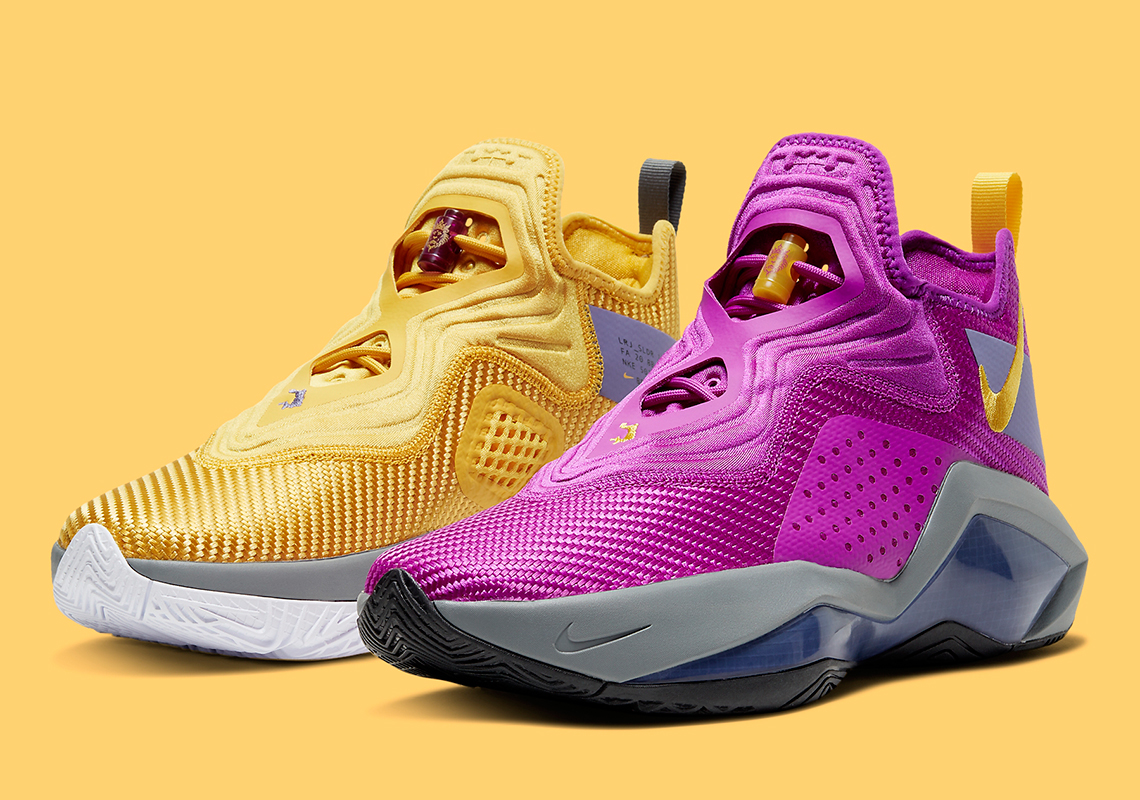 Nike LeBron Soldier 14 Lakers CK6047