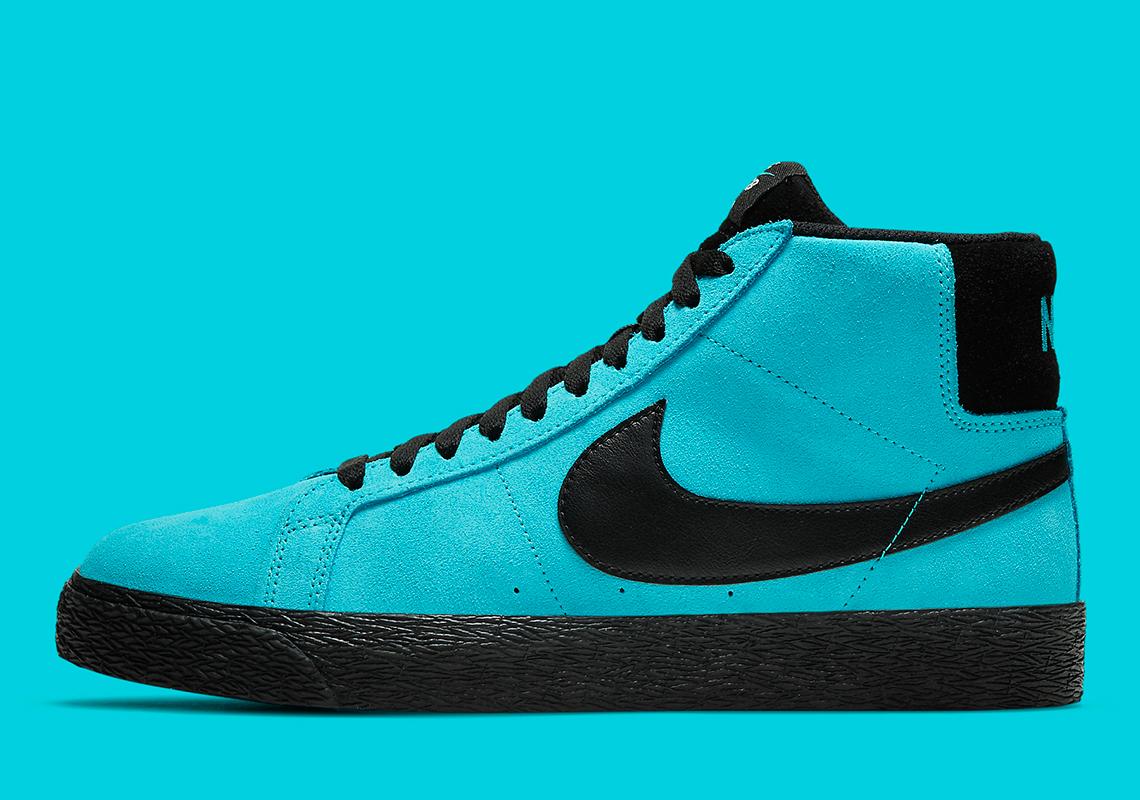 Nike SB Blazer Mid Baltic Blue 864349-400 | SneakerNews.com