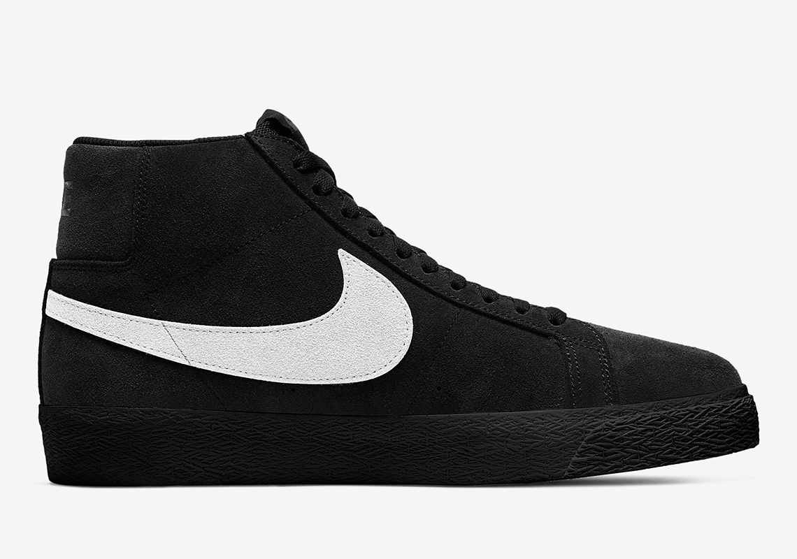 Nike SB Blazer Mid Black White 864349