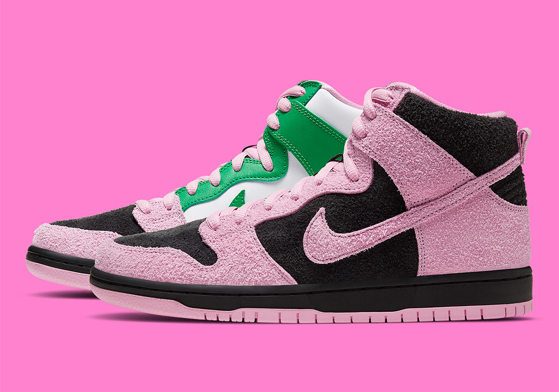 Image detail for Nike Dunk SB High heels Women shoes pink